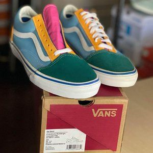 Vans Old Skool Yacht Club Men's Shoes color Block